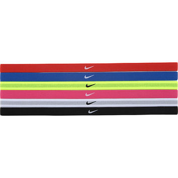 Nike Swoosh Sport Headbands - 6-Pack