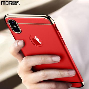 case for iPhone X iPhoneX case cover mofi luxury glitter back bumper bling caso funda for iPhone X coque iPhone X cover