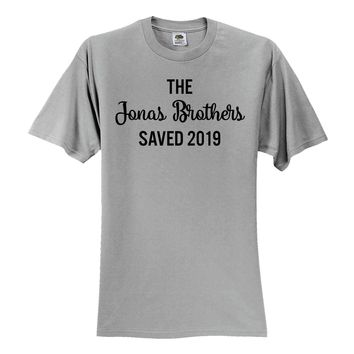 The Jonas Brothers Saved 2019 T-Shirt