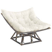 Squareasan Chair Frame - Taupe