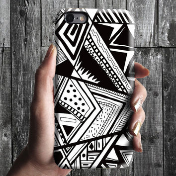 Geometric Triangles Pattern iPhone 6/6S, 6 Plus Case 4S, 5S, Galaxy Cover. Mobile Phone Cell. Gift Idea. Birthday gift. For Him, Her