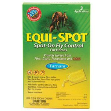Farnam® 100506084 Equi-Spot® On Fly Control for Horses, 6 Week Supply