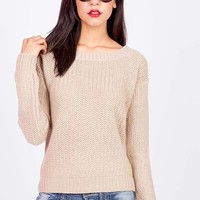 Crew Knit Sweater | Knit Sweaters at Pinkice.com