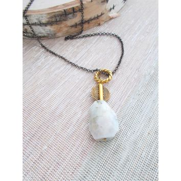 8689JN - Rainfall Necklace