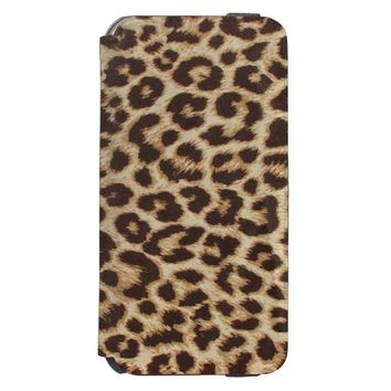 Leopard Print Incipio Watson™ iPhone 6 Wallet Case