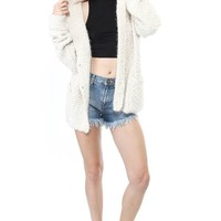 Comfort Me Oversize Cardigan - Jackets + Coats - OUTERWEAR - WOMEN - Foreign Exchange