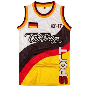 Club Foreign Sport Slim Fit Men Jersey Germany