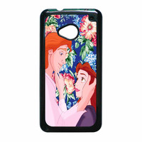 Beauty And The Beast Floral HTC One M7 Case
