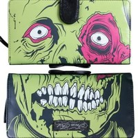 Iron Fist Dead Broke Clutch Purse Girls Wallets