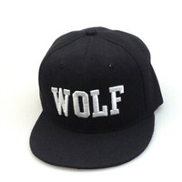 Summer Simple Cap WOLF Hat