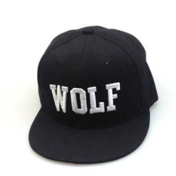 WOLF Embroidery Baseball Cap