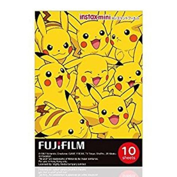 Fujifilm Instax Mini Instant Film (10 sheets, Pokemon)