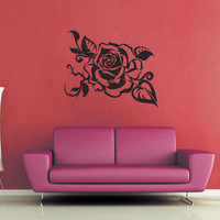 Rose Wall Decal - No 4