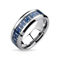 Bling Jewelry Woven Blue Band