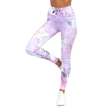 Women Fitness Clothing High Waist Workout Pants