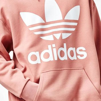 ONETOW adidas Fashion Pink Oversized Pullover Hoodie at PacSun.com