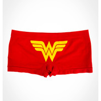 Wonder Woman Red Seamless Boyshorts