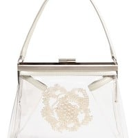 SIMONE ROCHA Transparent Embellished Handbag