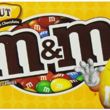 M&M Peanut, 3.40-Ounce (Pack of 12)