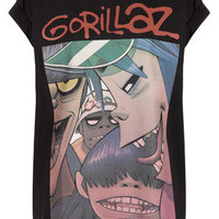 Gorillaz Tee By And Finally - New In This Week  - New In