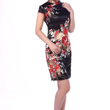 Shanghai Story Vestidos Cheongsam Dress Vintage Qipao Dress Qipao Cheongsam Dress Chinese Traditional Dress Multicolor