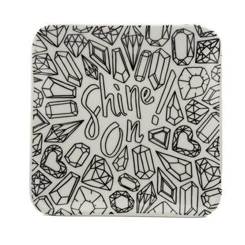 Color Joy Trinket Tray - Shine On