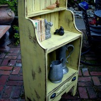 Shelf or Bookcase Antiqued and Shabby The Van by honeystreasures