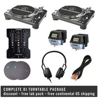Audio-Technica: Complete DJ Turntable Package