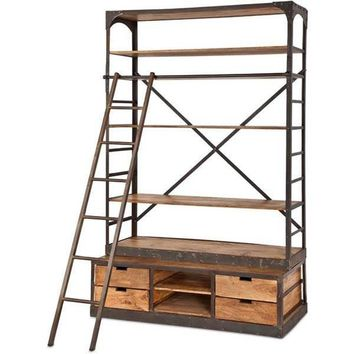Envy Iron Bookcase