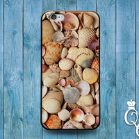 iPhone 4 4s 5 5s 5c 6 6s plus iPod Touch 4th 5th 6th Generation Cute Custom Beach Sand Sea Shell Pretty Phone Cover Ocean Girly Girl Case