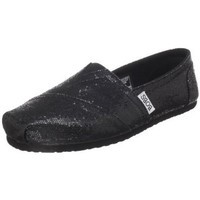 BOBS from Skechers Women's Earth Mama,Black,8.5 M US