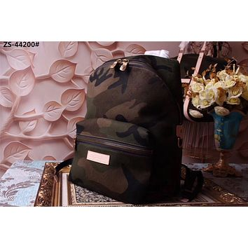LV SUPREME CAMOUFLAGE MONOGRAM ECLIPSE CANVAS APOLLO BACKPACK BAG