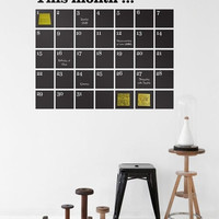 Ferm Living Shop — Calendar Wall Sticker