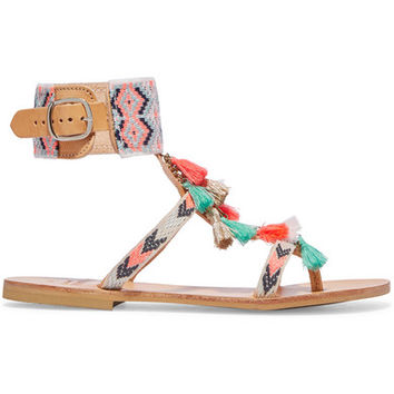 Mabu by Maria BK - Embellished leather sandals