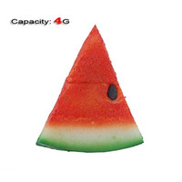 4GB Lovely Watermelon Shape Flash Drive (Red)