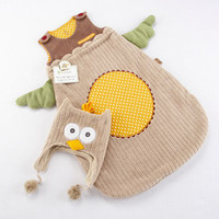 Sweet Baby Night Owl Infant Sleep Sack - Polkadot Patch Boutique