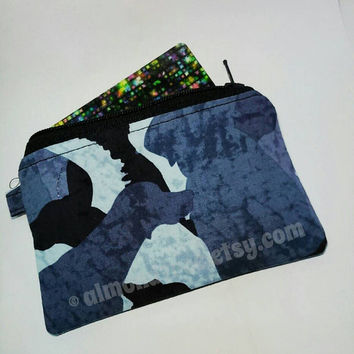 Dog, women wallet, credit card case, coin purse, id276701, portemonnaie, business cardholder , small zipper pouch