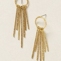 Sunshine Hoops by Anthropologie Gold One Size Jewelry