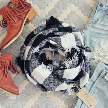 Cozy Buffalo Scarf