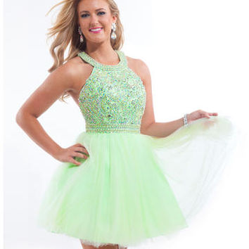 Rachel Allan Prom 6656 Rachel ALLAN Short Prom Prom Dresses, Evening Dresses and Homecoming Dresses | McHenry | Crystal Lake IL