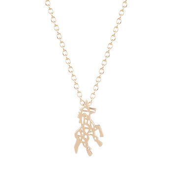 Beautiful Unicorn Horse Necklace