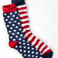 AEO Men's Stars & Stripes Crew Socks