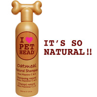 Oatmeal Natural Shampoo | Pet Head
