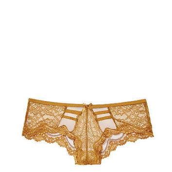 Lace & Mesh Strappy Cheeky Panty - Very Sexy - Victoria's Secret
