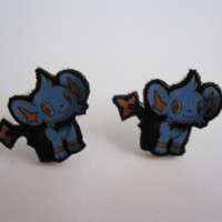 Shinx Post Earrings