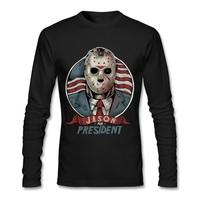 Jason For President print Usual Suspects Halloween T Shirt Top Chucky Freddy Krueger Zombie Jason Blood Top Tee