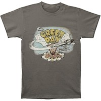 Green Day Men's  Dookie Vintage T-shirt Charcoal