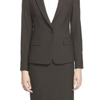 Women's Theory 'Gabe' Stretch Wool Blazer