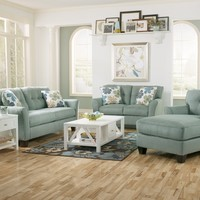 Ashley Kylee Lagoon Living Room Set - 66400 - Sofa Set