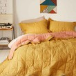 Clemente Two-Toned Solid Quilt